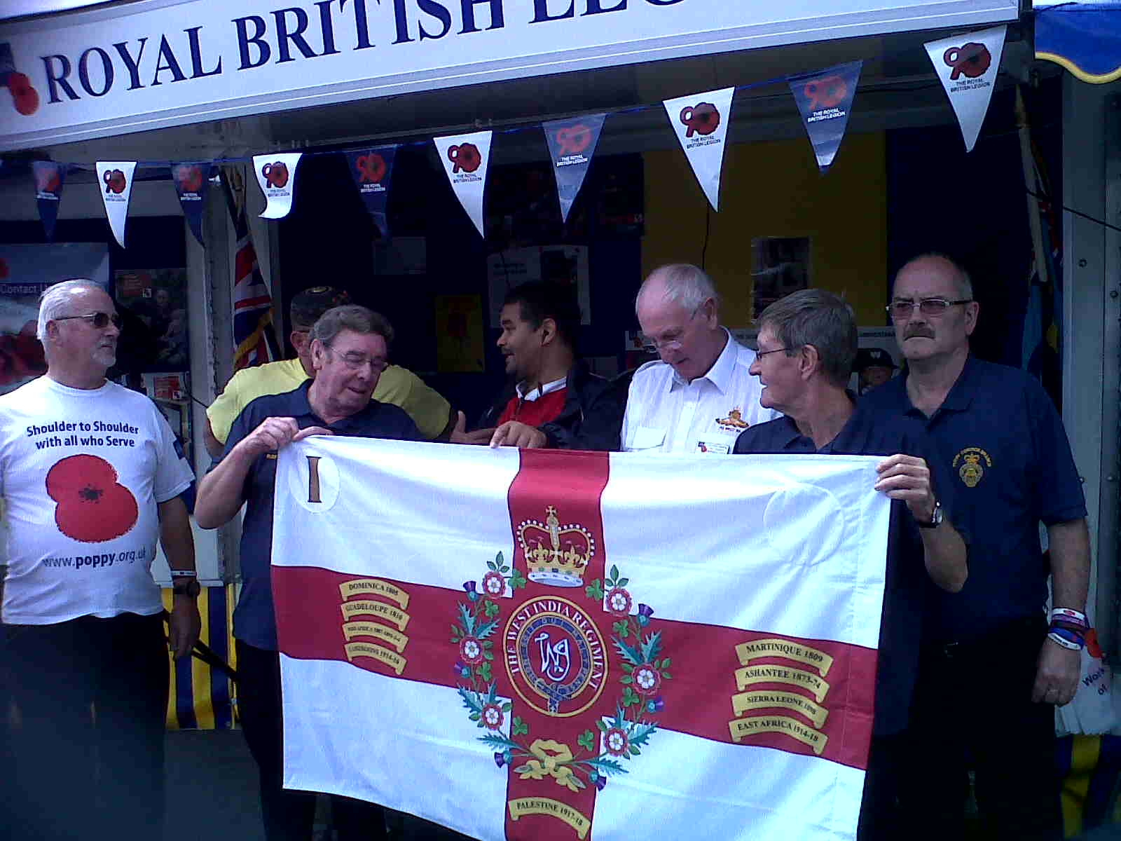 The Royal British Legion, Perry Common No 1 Branch, Sat 30 Jul 2011 (2of4)