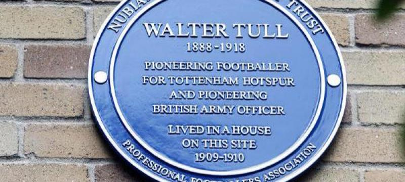 Walter Tull honoured with blue plaque