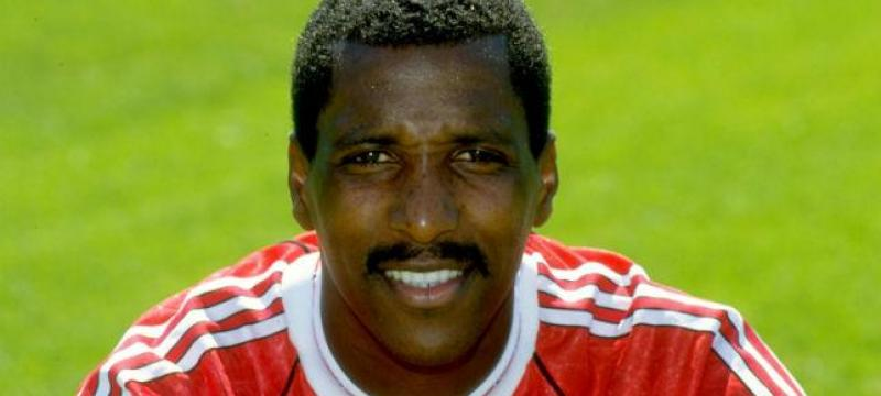 "Vivian ""Viv"" Anderson MBE. Football coach, former and full international player"