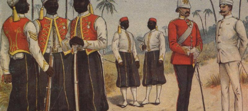 West India Regiment : Queen Victoria's gentlemen regiments