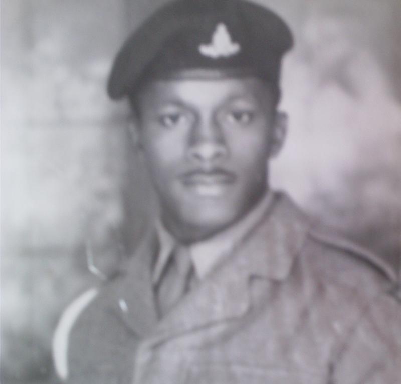 National Service. UK 1959. British West Indian