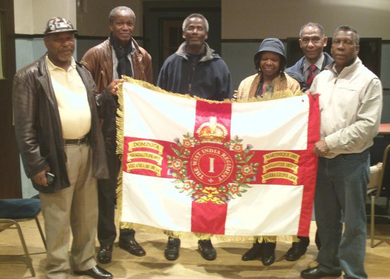 Members of the British & Caribbean Veterans Assocation