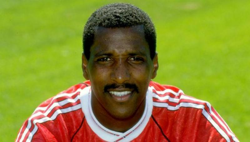 "Vivian ""Viv"" Anderson MBE. Football coach, former and full international player"