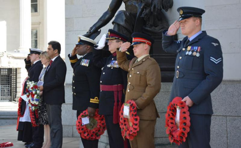 VJ Day Commemorations in Birmingham