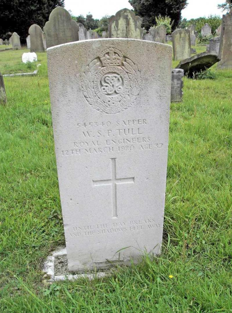 William Tull; Sapper, Royal Engineers