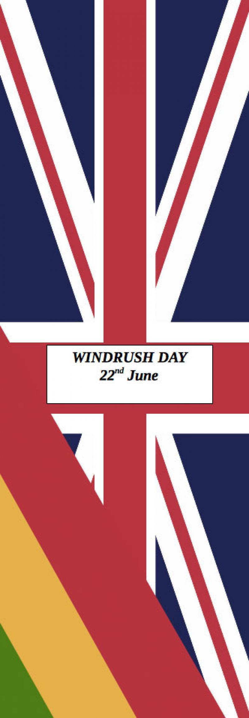 Windrush Day Flag