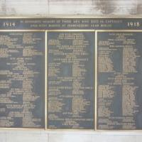 British & Commonwealth Troops lost in the Ypres Salient