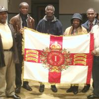 Members of the British & Caribbean Veterans Assocation