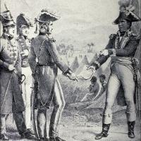 General Maitland meets Toussaint to discuss secret treaty