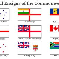 Naval Ensigns of the Commonwealth