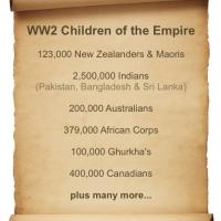 WW II, British Commonwealth