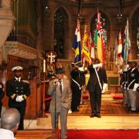 HMS Forward Supports SS Empire Windrush Remembrance Sunday