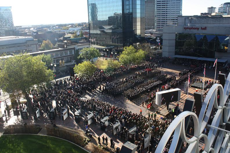 Remembrance Day Birmingham 2013